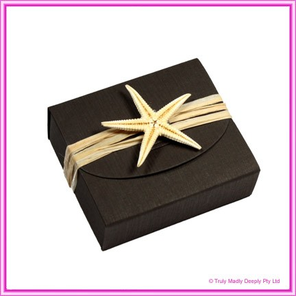 Bomboniere Purse Box - Urban Brown Ripple (Matte)