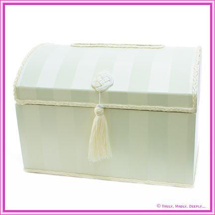 Wedding Treasure Chest - Ivory