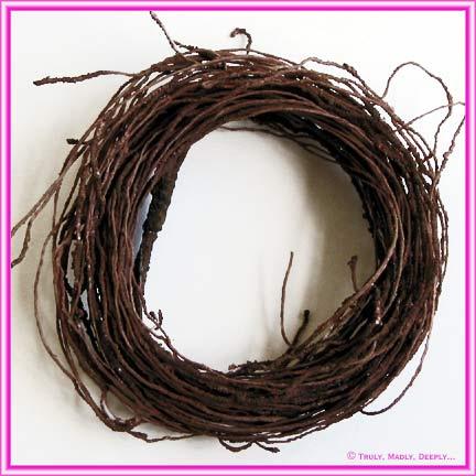 Artificial Vine Twig Bundle - Brown