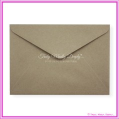 Buffalo Kraft 110gsm Matte - C5 Envelopes