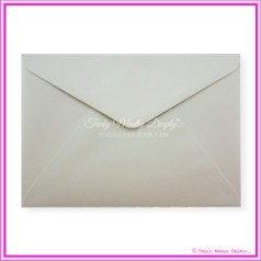 Crystal Perle Antique Silver 125gsm Metallic - C5 Envelopes