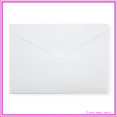 Crystal Perle Diamond White 125gsm Metallic - C5 Envelopes
