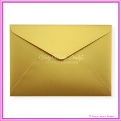 Crystal Perle Gold 125gsm Metallic - C5 Envelopes