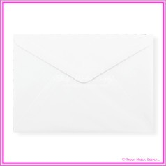 Knight White Linen 100gsm Matte - C5 Envelopes