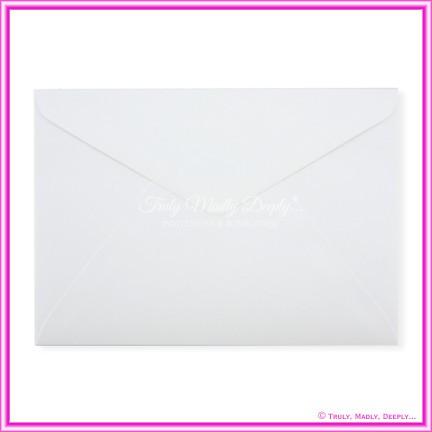 Metallic Pearl White 125gsm - C5 Envelopes