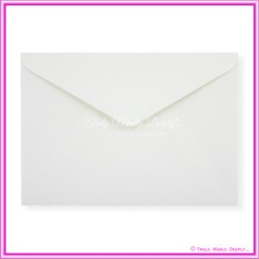 Mohawk Via Vellum Felt White 104gsm Matte - C5 Envelopes