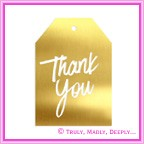 Envelope Seal - CR Thank You Gold - Box of 50