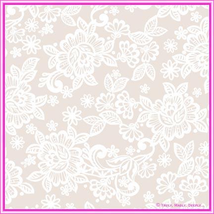 A4 Fleur De Flock Paper