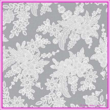 Cristina Re Translucent Vintage Lace -  A4 Sheet