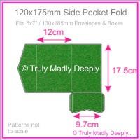 120x175mm Pocket Fold - Curious Metallics Botanic