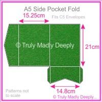 A5 Pocket Fold - Curious Metallics Botanic