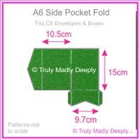 A6 Pocket Fold - Curious Metallics Botanic