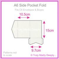 A6 Pocket Fold - Curious Metallics Ice Gold