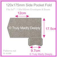 120x175mm Pocket Fold - Curious Metallics Ionised