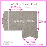 A5 Pocket Fold - Curious Metallics Ionised