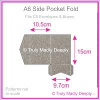 A6 Pocket Fold - Curious Metallics Ionised