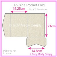 A5 Pocket Fold - Curious Metallics Lustre
