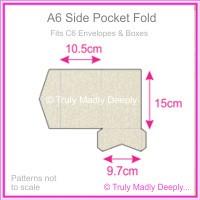 A6 Pocket Fold - Curious Metallics Lustre