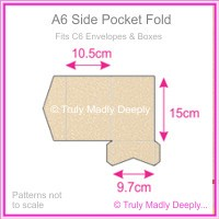 A6 Pocket Fold - Curious Metallics Nude