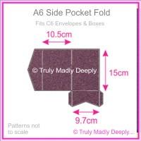 A6 Pocket Fold - Curious Metallics Violet