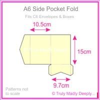 A6 Pocket Fold - Keaykolour Original China White