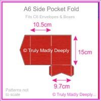 A6 Pocket Fold - Keaykolour Original Guardsman Red