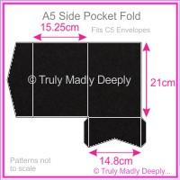 A5 Pocket Fold - Keaykolour Original Jet Black