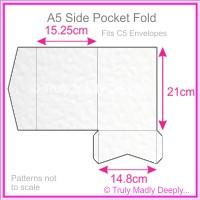 A5 Pocket Fold - Knight White Hammer