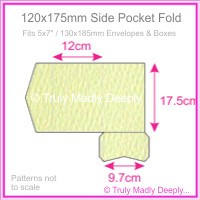 120x175mm Pocket Fold - Mohawk Via Felt Cream