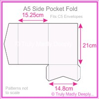 A5 Pocket Fold - Splendorgel White
