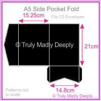 A5 Pocket Fold - Starblack