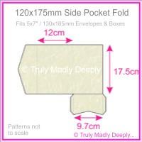 120x175mm Pocket Fold - Stardream Metallic Quartz
