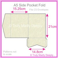 A5 Pocket Fold - Stardream Metallic Quartz