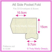 A6 Pocket Fold - Stardream Metallic Quartz