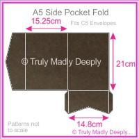A5 Pocket Fold - Urban Brown