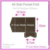 A6 Pocket Fold - Urban Brown