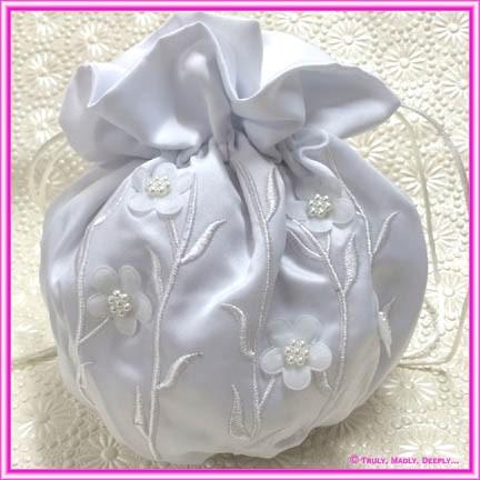 Wedding Bridal Bag - Daisy Leaf