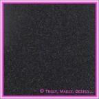 A4 Glitter Card Black