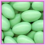 Almonds Sugar Coated GREEN - 1kg (Approx. 200)