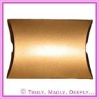 Bomboniere Pillow Box 120mm Metallic Gold