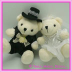 Wedding Bride & Groom Teddies