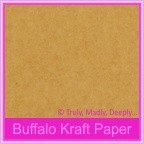 Buffalo Kraft 110gsm Matte - 160x160mm Square Envelopes