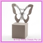 Bomboniere Butterfly Chair Box - Urban Mocca (Matte)