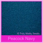 Cake Box - Classique Metallics Peacock Navy