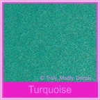 Classique Metallics Turquoise 290gsm Card Stock - A4 Sheets