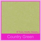 Bomboniere Box - 3 Chocolates - Cottonesse Country Green 250gsm (Matte)