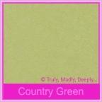 Bomboniere Purse Box - Cottonesse Country Green 250gsm (Matte)