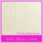 Bomboniere Box - 5cm Cube - Crystal Perle Arctic White Lumina (Metallic)