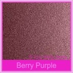 Crystal Perle Berry Purple 125gsm Metallic - 160x160mm Square Envelopes