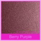 Bomboniere Throne Chair Box - Crystal Perle Berry Purple (Metallic)